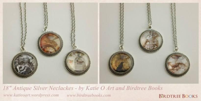 Birdtree Books jewellery